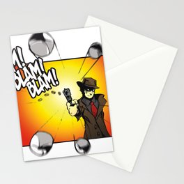 Bullet Time Stationery Cards