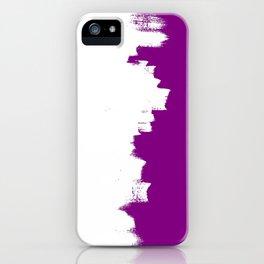 Purple imbalance iPhone Case