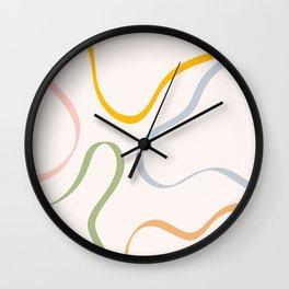 Rambla IV Wall Clock