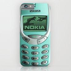 OLD NOKIA Cyan iPhone 6 Slim Case