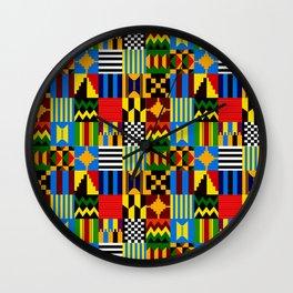 KENTE PLAY Wall Clock