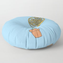 Watering Horn Floor Pillow