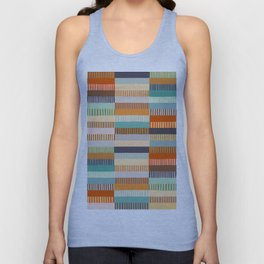 Fall Grandmother's Quilt Unisex Tank Top
