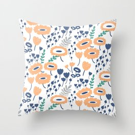 Sofia Patterns Throw Pillow