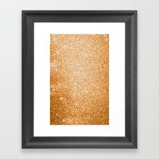 Metallic (Gold) Framed Art Print