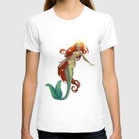 halo T-shirts featuring Halo Mermaid by Yolanda martinez