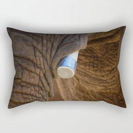 Tusks and Folds Rectangular Pillow
