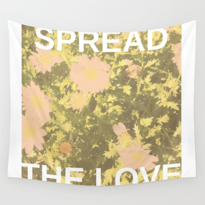 Spread the Love Wall Tapestry
