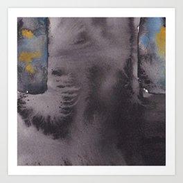 Paynes Grey Art Print