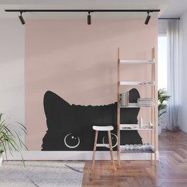 Black cat 1 Wall Mural