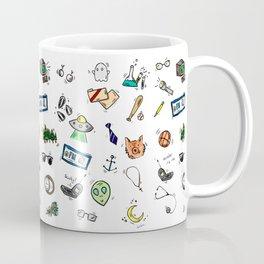 Spooky Doodles Coffee Mug