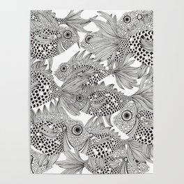 Fish School II Poster