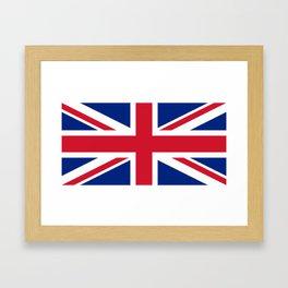 United Kingdom: Union Jack Flag Framed Art Print