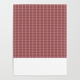 mini pattern with white Poster