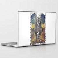 capricorn Laptop & iPad Skins featuring Capricorn by Caroline Vitelli GOODIES