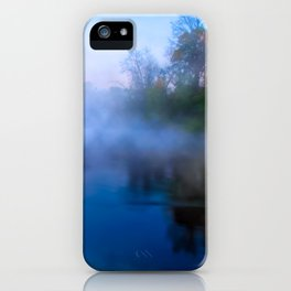 Fall Morning On The Flint River - Georgia Landscape iPhone Case