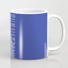 First Amendment Rights Coffee Mug