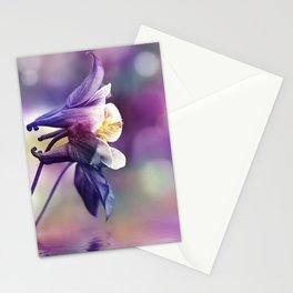Columbine Flower 279 Stationery Cards