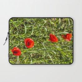 Summer Poppys Laptop Sleeve