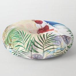 Summer In Spain  #travel #art print Floor Pillow