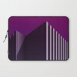 Calorifère - Brutalist purple verticality Laptop Sleeve