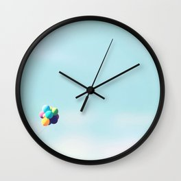 With Flying Colors Wall Clock