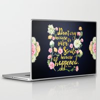 dr seuss Laptop & iPad Skins featuring Dr. Seuss - Don't Cry by Evie Seo