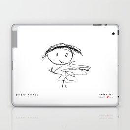 [happy mommy] - nadya 4 yr Laptop & iPad Skin