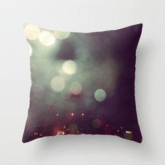 Bokeh @ Night Throw Pillow