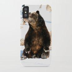 Chillin' Bear iPhone X Slim Case