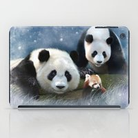 pandas iPad Cases featuring Pandas by Julie Hoddinott
