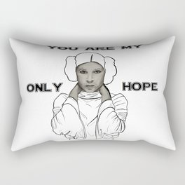 You Are My Only Hope Rectangular Pillow