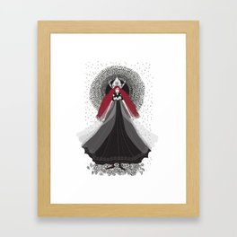 Morena - Slavic Goddess of winter and rebirth of nature Framed Art Print