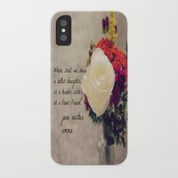 jane austen iPhone & iPod Cases featuring Jane Austen Daughter Emma by KimberosePhotography