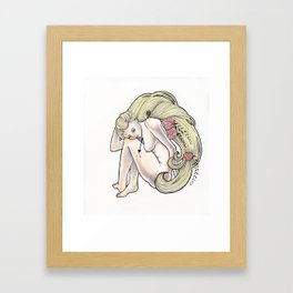 Arrow Girl Framed Art Print