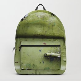 green industrial detail Backpack