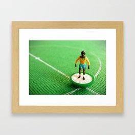 Brazil Subbuteo Player 1982 Framed Art Print