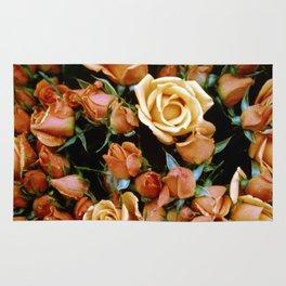 Rosebuds, Darling Rosebuds Rug