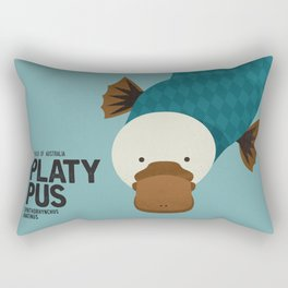 Hello Platypus Rectangular Pillow