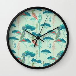 Hoopoe Heaven 2 Wall Clock