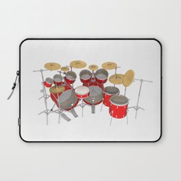 Red Drum Kit Laptop Sleeve