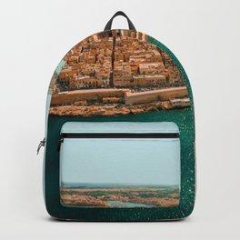 Valletta, Malta Travel Artwork Backpack