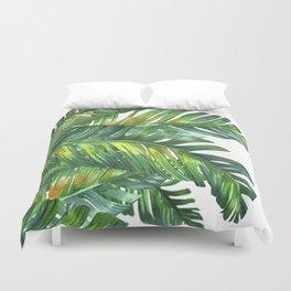 tropical green 2 Duvet Cover