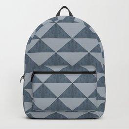 Cement Bluestone Triangles Backpack