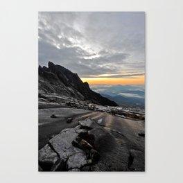 Mt. Kinabalu Canvas Print