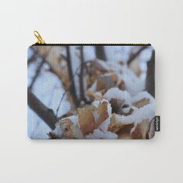 Snowy Birch Tree Carry-All Pouch