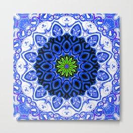 Star Flower of Symmetry 671 Metal Print