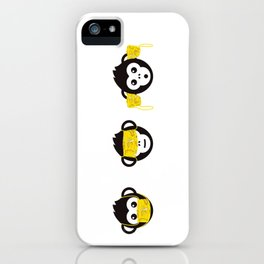 MONKEY MEDIA iPhone Case