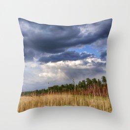 Thunder Sky Throw Pillow