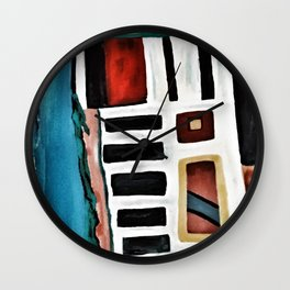 Just Out Wall Clock